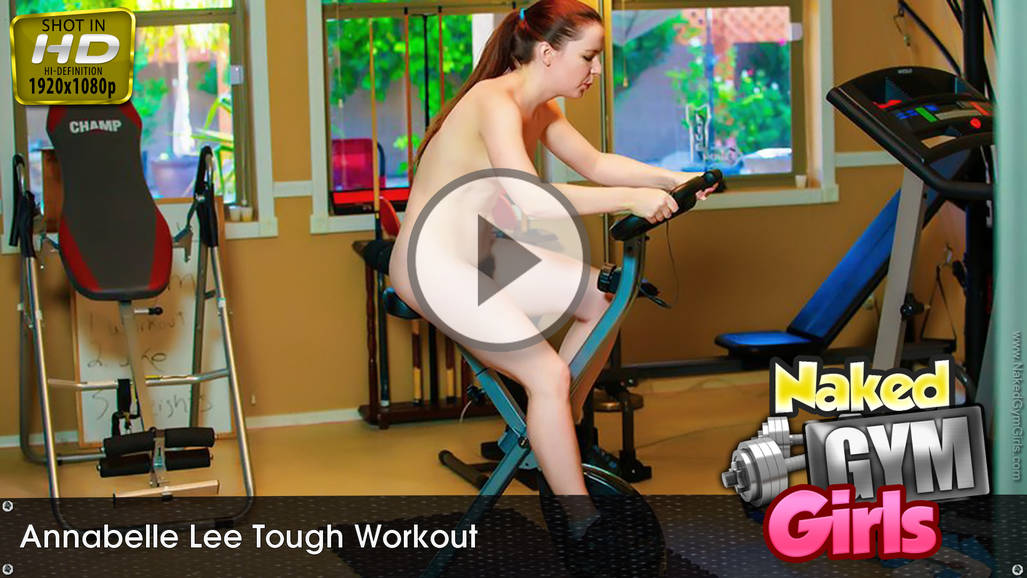 Annabelle Lee in Tough Workout